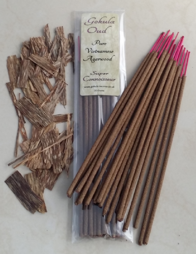 Pure Vietnamese Agarwood Incense Sticks - 20 grams - Super Connoisseur Quality